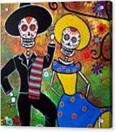 Day Of The Dead Bailar Acrylic Print
