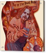 Day Of The Dead Dude Acrylic Print