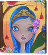 Day Of The Dead Princess Acrylic Print