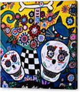 Day Of The Dead Acrylic Print