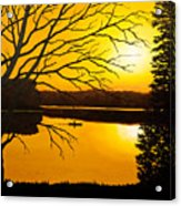 Day On The Lake Acrylic Print