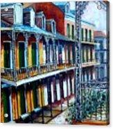 Daybreak On St. Ann Street Acrylic Print