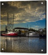 Daybreak On The Captain Jack Acrylic Print
