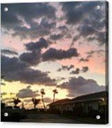 Daybreak Sky In Florida Acrylic Print