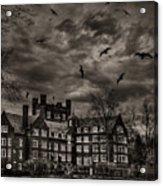 Daydreams Darken Into Nightmares Acrylic Print
