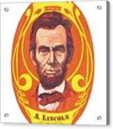 Dayglow Lincoln Acrylic Print by Harry West