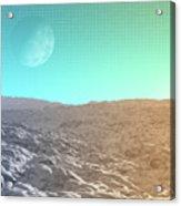 Daylight In The Desert Acrylic Print