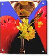 Happy Cocktail Hour Acrylic Print