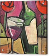 Days Of Wine And Roses Acrylic Print