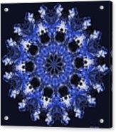 Days Will Pass Mandala Acrylic Print