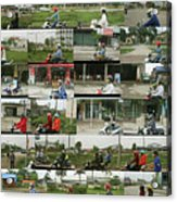 Daytime Scooters, Hanoi Acrylic Print