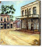 Dayton Nevada Acrylic Print by Evelyne Boynton Grierson