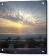 Daytona Beach Sunrise Acrylic Print