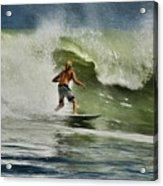 Daytona Beach Surfing Day Acrylic Print