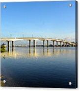 Daytona Beach's Broadway Bridge  Acrylic Print