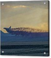 Dc-10's First Retardant Drop In South Dakota Acrylic Print