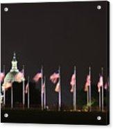 Dc At Night Acrylic Print