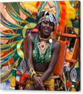 Dc Caribbean Carnival No 17 Acrylic Print by Irene Abdou