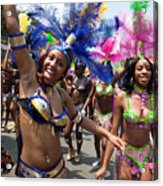 Dc Caribbean Carnival No 8 Acrylic Print by Irene Abdou