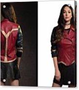 Dc Comics Wonder Woman Jacket Acrylic Print