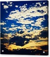 Dc Sunset Acrylic Print
