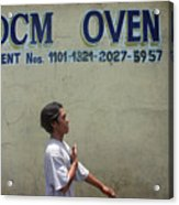 Dcm Oven 2 Acrylic Print