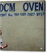 Dcm Oven Acrylic Print