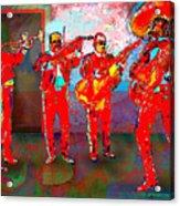 De Colores Acrylic Print by Dean Gleisberg