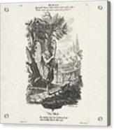 De Wereld, Jeremias Wachsmuth, After Gottfried Eichler II, C. 1758 - C. 1760 Acrylic Print
