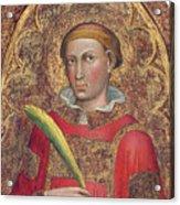 Deacon Saint, With Saint Anthony Abbot Acrylic Print