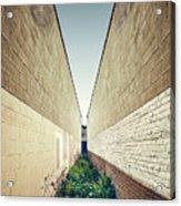 Dead End Alley Acrylic Print