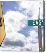 Dead End On Easy Street Acrylic Print