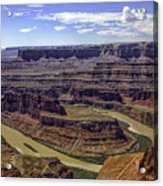 Dead Horse Point View Acrylic Print