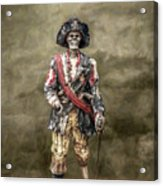 Dead Men Tell No Tales Acrylic Print by Randy Steele