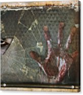 Dead Window Acrylic Print