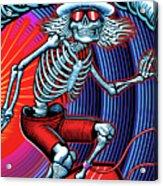 Deadhead Surfer Acrylic Print