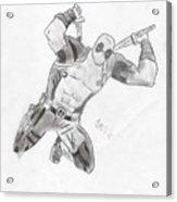 Deadpool Acrylic Print