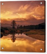 Deadwood River Sunrise Acrylic Print