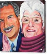 Dean And Frances Acrylic Print