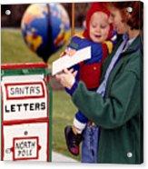 Dear Santa Acrylic Print