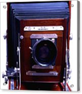 Deardorff 8x10 View Camera Acrylic Print by Joseph Mosley
