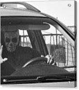 Death Driver Acrylic Print