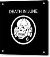 Death In June Acrylic Print