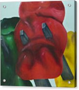 Death Of A Gummy Bear I Acrylic Print