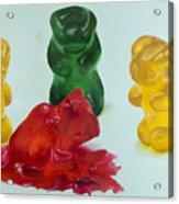 Death Of A Gummy Bear II Acrylic Print