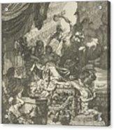 Death Of Dido, Gerard De Lairesse, 1668 Acrylic Print