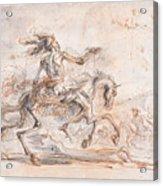 Death On The Battlefield Acrylic Print