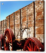 Death Valley Borax Wagons Acrylic Print