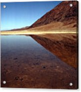 Death Valley Lake Acrylic Print