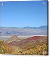Death Valley National Park - Eastern California Acrylic Print by Christine Till